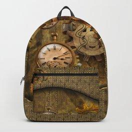 Noble steampunk design Backpack