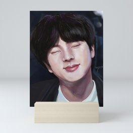 lights on jin Mini Art Print