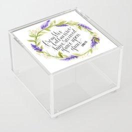 Grace Upon Grace  Acrylic Box