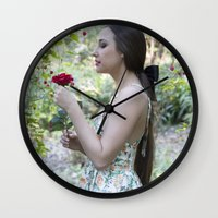 fairytale Wall Clocks featuring Fairytale by JadeJessicaPhotography