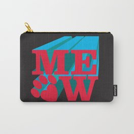 MEOW paw Carry-All Pouch