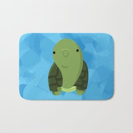 The Happy Turtle Bath Mat