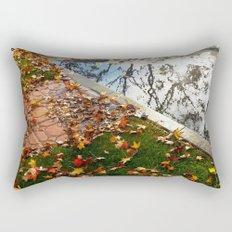 Wet December Morning in California Heights Rectangular Pillow