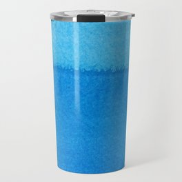 Blue Ocean Up Close Travel Mug