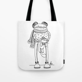 Betty and Fergus Tote Bag