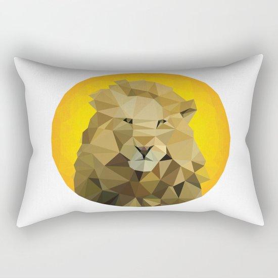 ♥ SAVE THE LIONS ♥ Rectangular Pillow