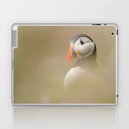 Portrait of Puffin Laptop & iPad Skin
