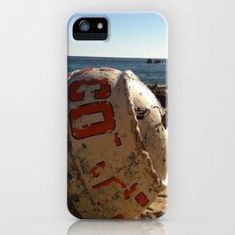 Point Dume Beach Buoy iPhone Case