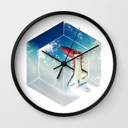Into the Fourth Dimension Wall Clock