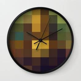 Pixel Art Wall Clock