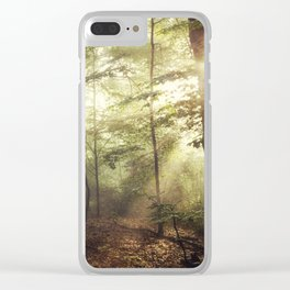 german rain forest Clear iPhone Case