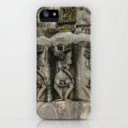 Buddha Rock Wall iPhone Case