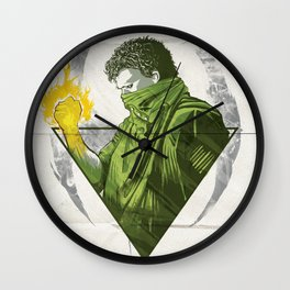 The Battle is Won Wall Clock