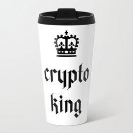 Crypto King Gothic Travel Mug
