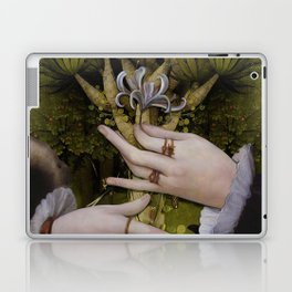 """""""The hands of Bosch and the Spring"""" Laptop & iPad Skin"""