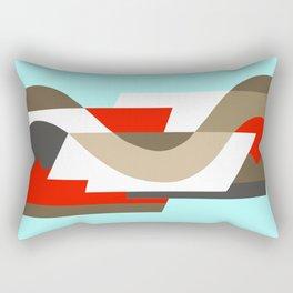 SUISSE - Art Deco Modern: SIXTIES OFFICE Rectangular Pillow