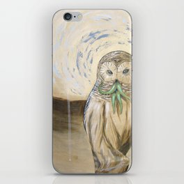 Owlthulhu iPhone Skin