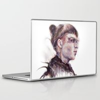 grimes Laptop & iPad Skins featuring Grimes II by beart24