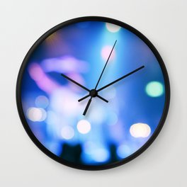 It's Party Time #2 #Blue Wall Clock