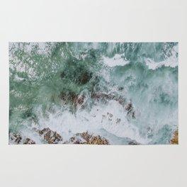 waves xiv / australia Rug