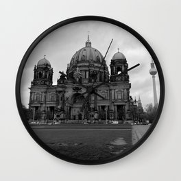Berlin #3 Wall Clock