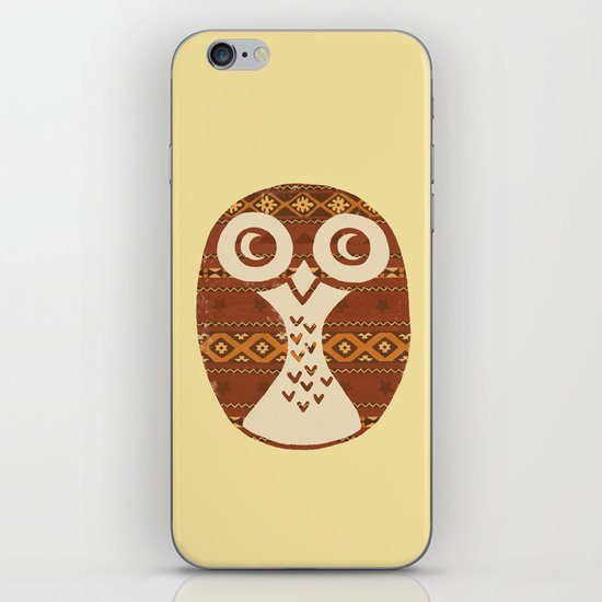 Navajo Owl  iPhone & iPod Skin