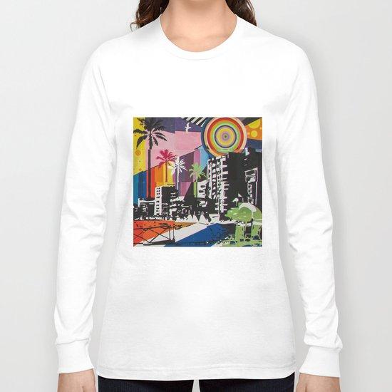 the city 6 Long Sleeve T-shirt