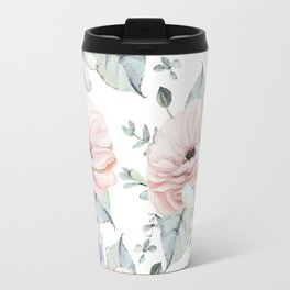Pretty Succulents by Nature Magick Travel Mug