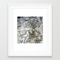 military Framed Art Prints featuring Military by Amanda McCrory