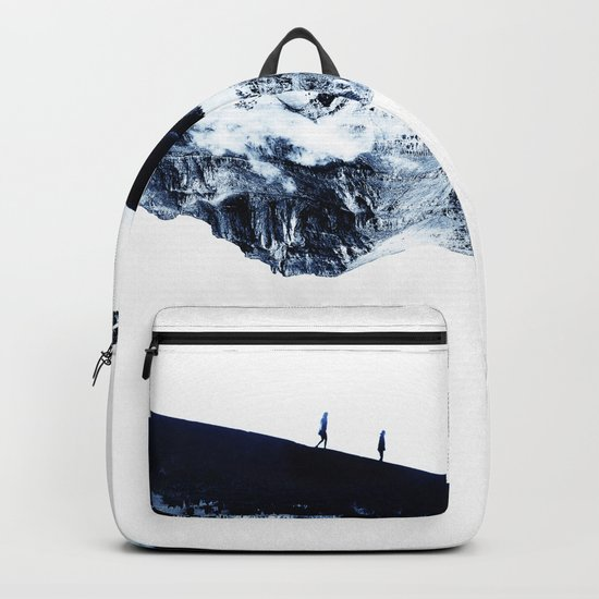 Hiking for Winter Backpack