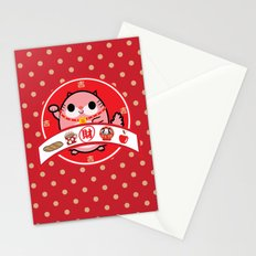 Lucky charm pink lady Stationery Cards