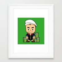 popeye Framed Art Prints featuring Popeye  by Jefferson Ng