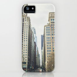 Chicago street iPhone Case