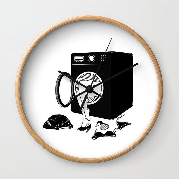 Washing Bad Memories Wall Clock