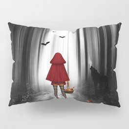 Little Red Riding Hood and the wolf Pillow Sham