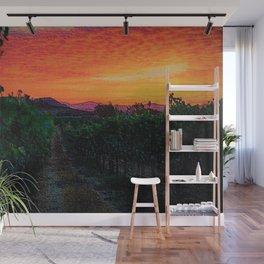 Tuscany Sunrise Landscape by Jeanpaul Ferro Wall Mural