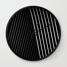 Letter 'A' Typographic Letterform Wall Clock