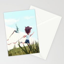 Paint on Fence Stationery Cards