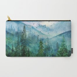 Spring Mountainscape Carry-All Pouch