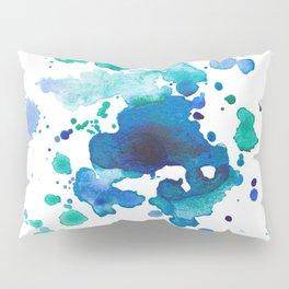 Artistic Splatter Pillow Sham