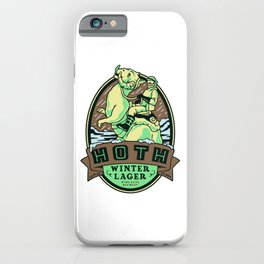 Hoth Winter Lager iPhone Case
