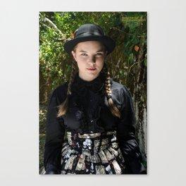 Petticoats are Badass Canvas Print