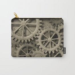 Steampunk Cogwheels Carry-All Pouch