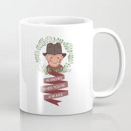 Freddy Krueger Christmas Coffee Mug