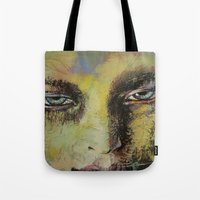 shiva Tote Bags featuring Shiva by Michael Creese