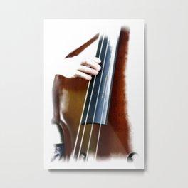 Bluegrass Bass Metal Print
