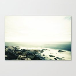 bondi rocks Canvas Print