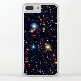 COSMOS Field Clear iPhone Case