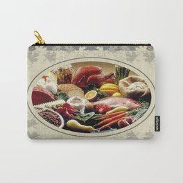 Thanksgiving Dinner and Autumn Decoration. Carry-All Pouch