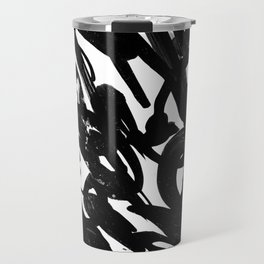 Black Battle Travel Mug